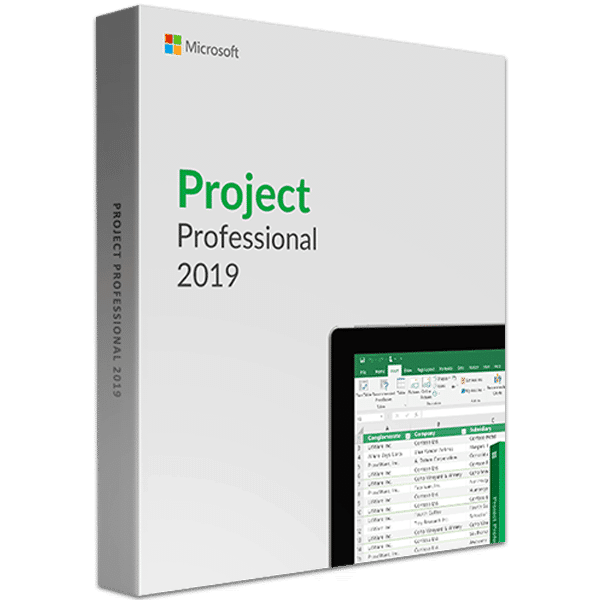 Project 2019 Professional Product Key (Retail Account Bind