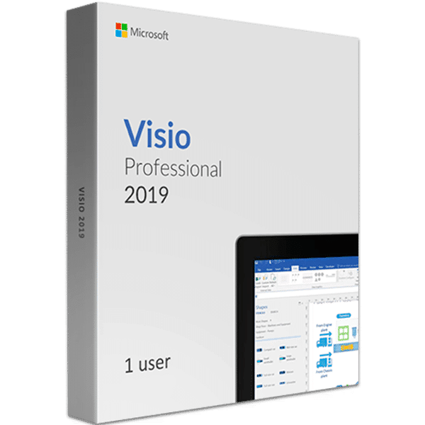 Visio 2019 Professional Product Key (Retail Account Bind